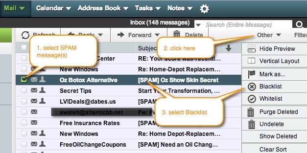 blacklist-spam-mesages-horde-webmail
